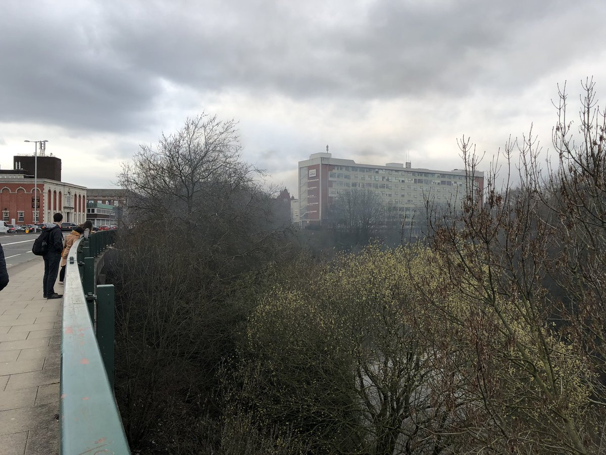 Breaking: Fire near the University of Salford